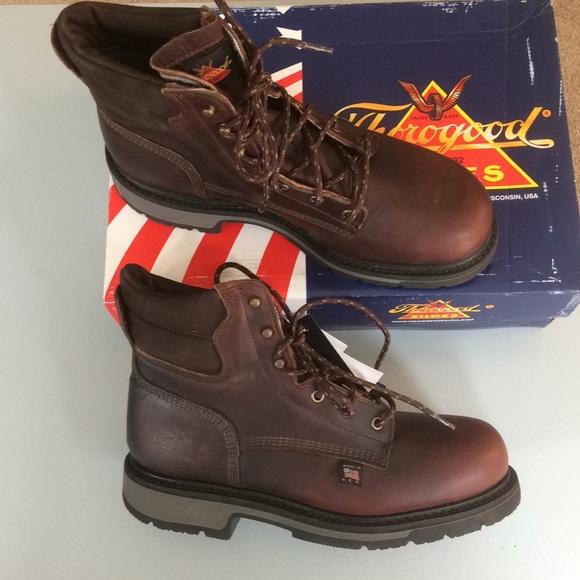 5a1073b0370 Steel toe work boot 8EE & 11.5EE NEW NIB NWT